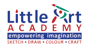 Little Art Academy Sketch Draw Colour Craft